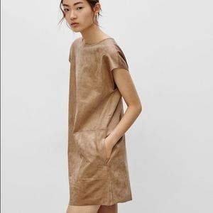 Wilfred Free Nori Faux Suede Dress